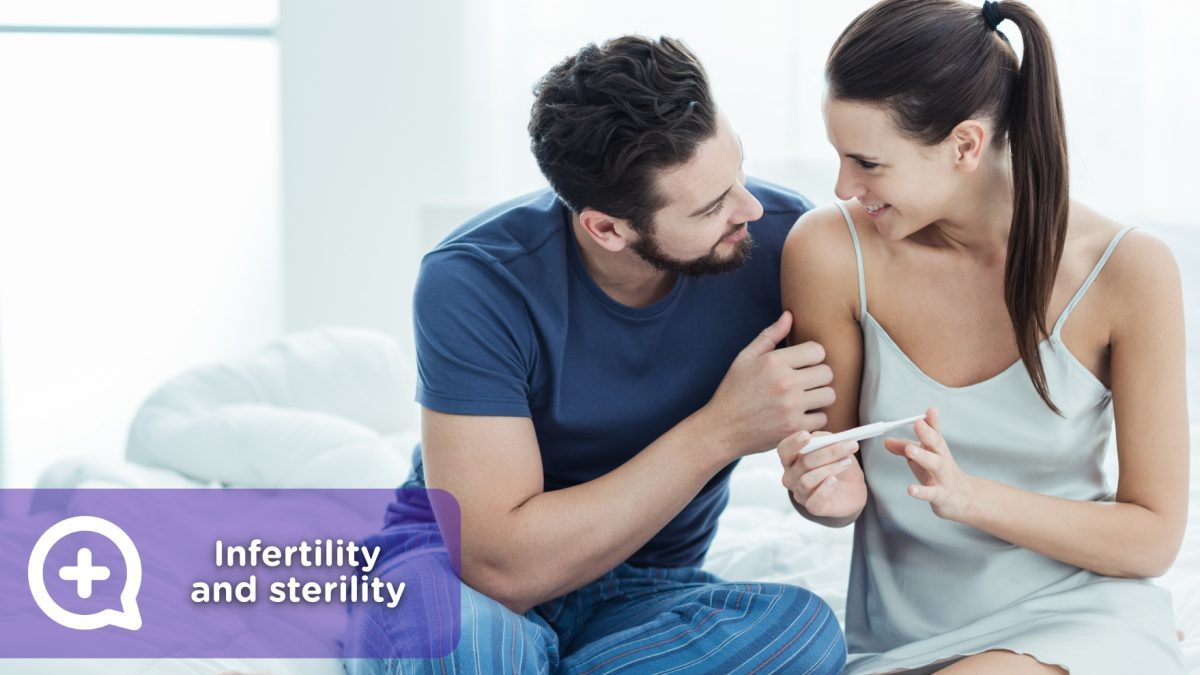 Couple, infertility, sterility, fertilization, assisted reproduction, in vitro, ways to get pregnant.