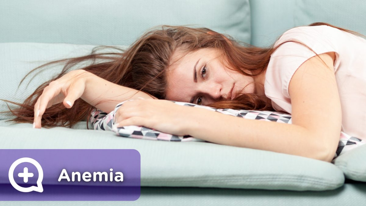 Tired person, with fatigue, lack of vitamins, anemia, menstruation, pregnancy.