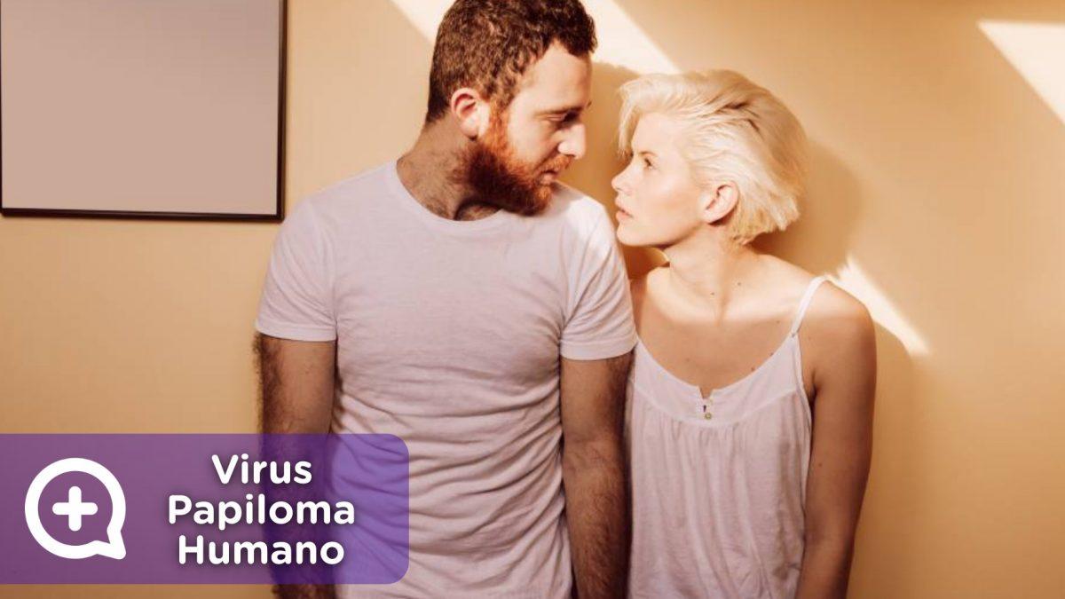 Pareja con vph, virus papiloma humano, la ets que se contagia por las relaciones sexuales sin protección.