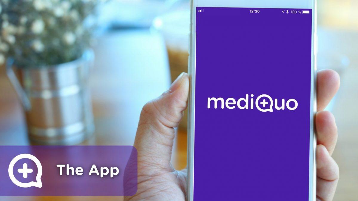 mediquo, your doctor friend, medical chat. Health startup, medicine, health.