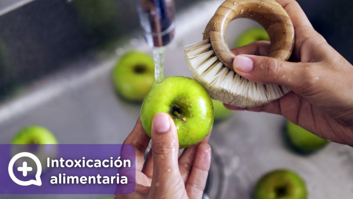 Intoxicaciones alimentarias. Lavar bien las frutas y verduras antes de su consumo