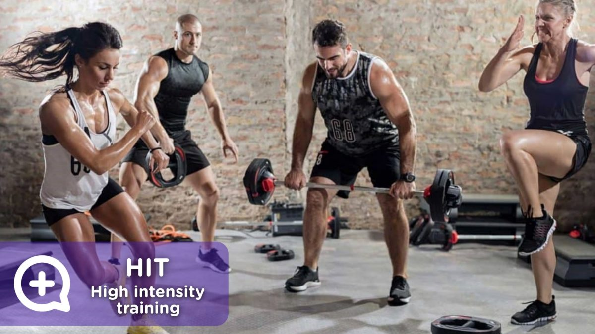 HIT training of high resistance. Lose weight, lose weight. MediQuo, your doctor friend. Medical chat