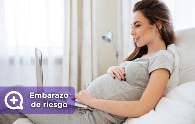 Embarazo de riesgo, tratamiento, reposo, prevención, vida sana. mediQuo, tu amigo médico. Chat médico. Ginecólogo.