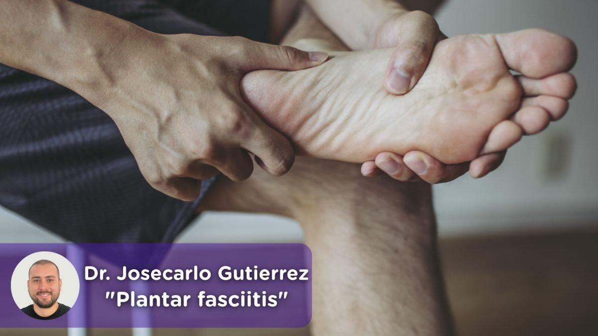 Heel, foot pain, plantar fasciitis