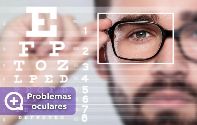 Problemas y enfermedades oculares, conjuntivitis, miopía, astigmatismo, visión borrosa, ojos rojos. MediQuo, tu amigo médico. Chat médico.