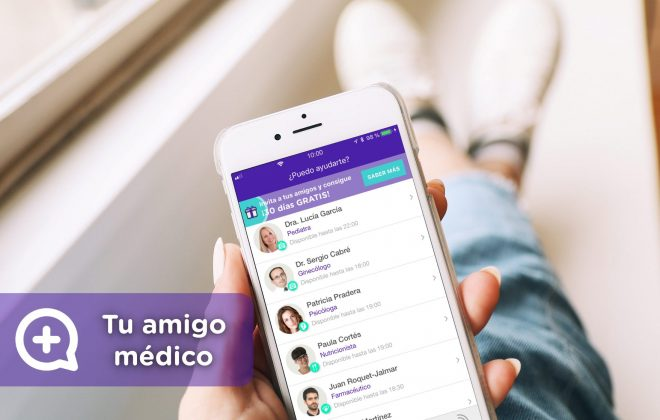 MediQuo, tu amigo médico, chat médico. Salud y medicina al alcance de todo el mundo.
