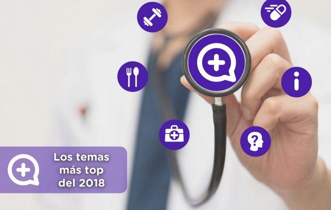 Los temas de salud más importantes del 2018. Mediquo. Tu amigo médico. Chat médico.
