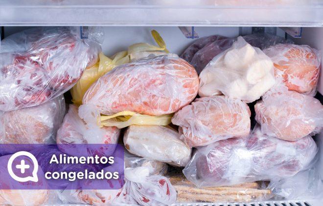 Alimentos congelados, descongelación. Nutrición. Mediquo. Tu amigo médico. Chat médico. Nutrición.