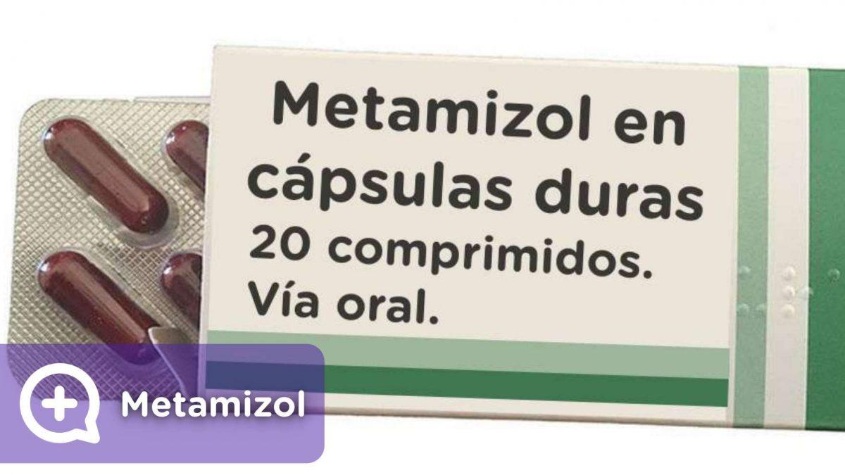 Metamizol, analgésico, antipirético. MediQuo, seu amigo médico. Bate-papo médico. Nolotil.