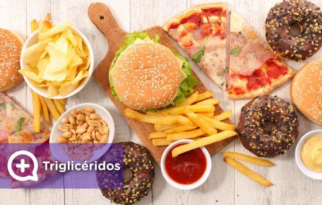 triglicéridos, altos o bajos, prevención salud, colesterol, comida basura, estilo de vida saludable. Mediquo, tu amigo médico. Chat médico.
