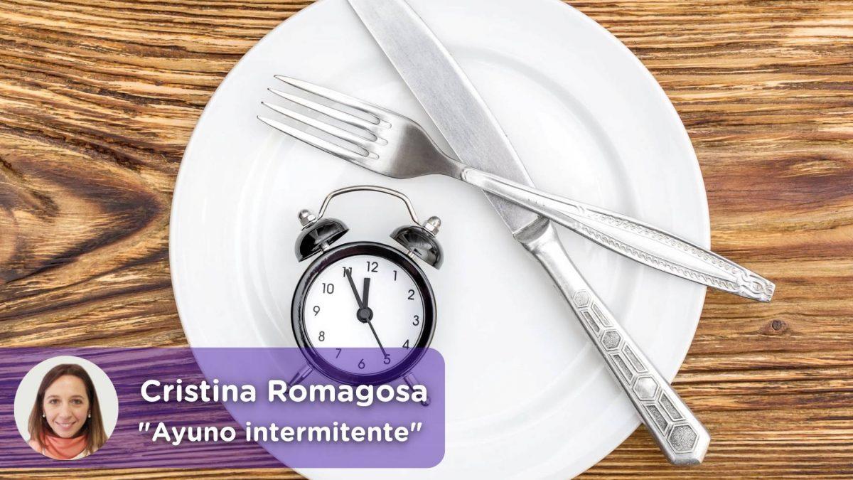 Ayuno intermitente o método fasting. Obesidad, sobrepeso, nutrición. Mediquo, tu amigo médico. Chat médico. Cristina Romagosa.