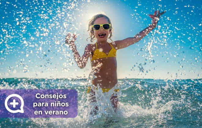 consejos para niños en verano, salud, pediatría, mediquo. Tu amigo médico. Chat médico.