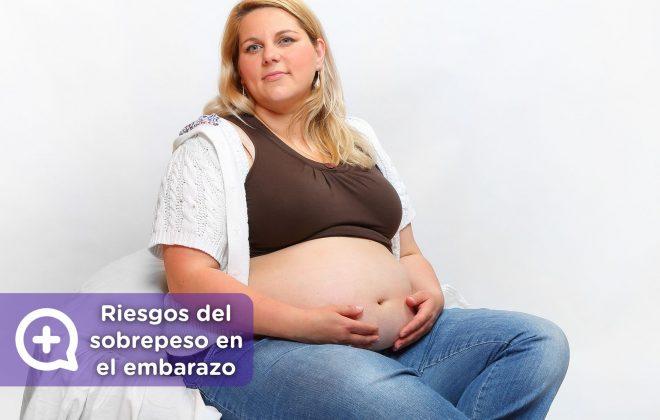 riesgos del sobrepeso u obesidad en el embarazo. Mujer embarazada, IMC alto. Mediquo, tu amigo médico. Chat médico.