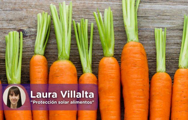 zanahoria, betacarotenos. Laura Villalta, mediquo, tu amigo médico.