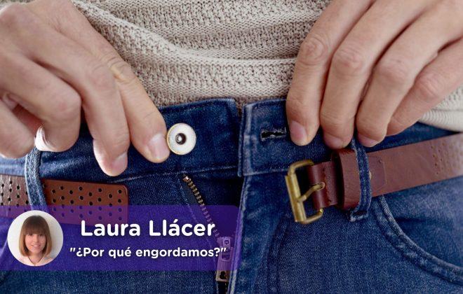 Engordar con la edad, Laura Llácer, Mediquo, Nutrición. Salud. Obesidad, sobrepeso.