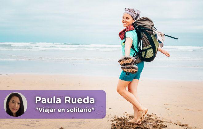 Las ventajas de viajar en solitario. Psicología. Paula Rueda. Mediquo.