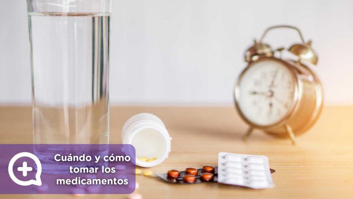 Hora, alimentos, medicamentos, fármacos, ayuno, comida. Nutrición, medicina. Mediquo, tu amigo médico. Chat médico.