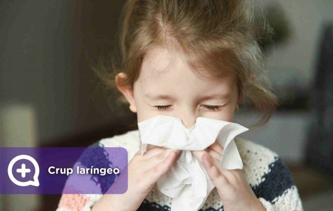 crup laríngeo, infección, virus. Mediquo. Pediatra. Salud.