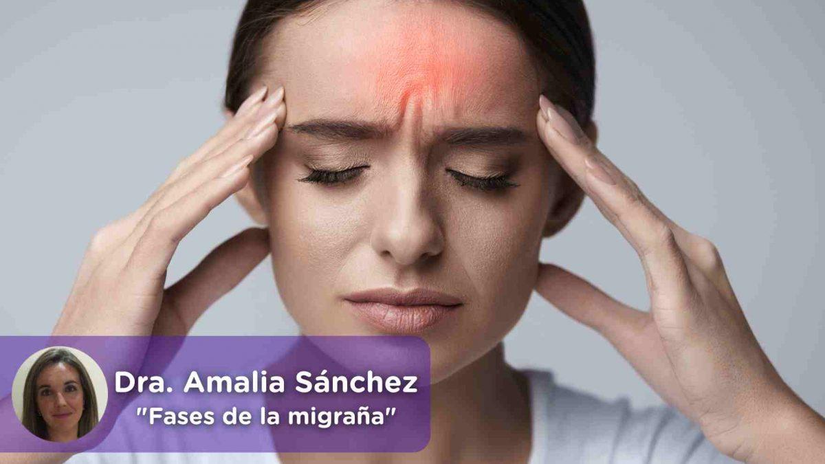 Dolor de cabeza, migraña, jaqueca, cefalea, Mediquo, Fases, Aura. Salud.
