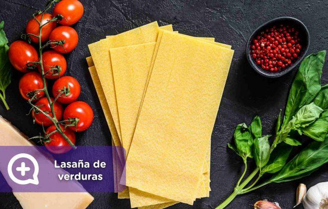 lasaña de verduras, recetas fáciles, mediquo. salud, nutrición
