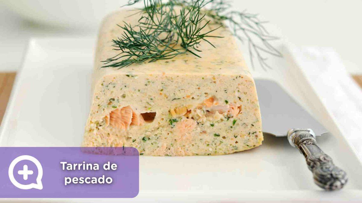 Receta, recetas fáciles, tarrina de pescado. Mediquo. Salud. Nutrición.
