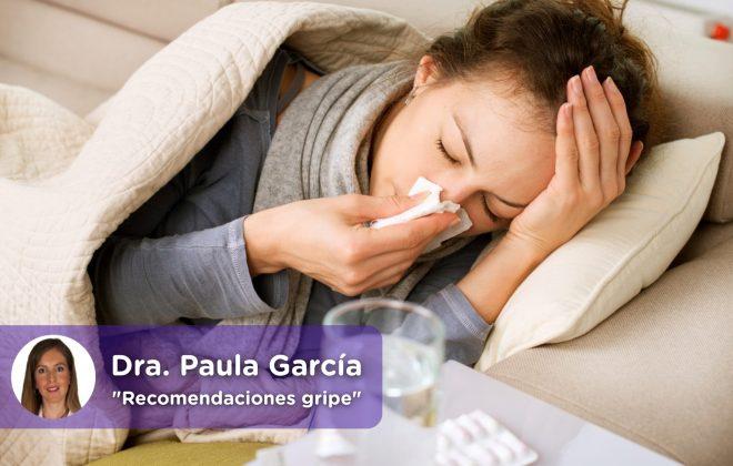 Recomendaciones gripe, creo que tengo gripe, que me puedo tomar. mediquo, salud, paracetamol.