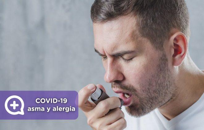 Covid19 y pacientes con asma y alergias. Mediquo. App. Telemedicina. Ministerio de Sanidad. Salud.