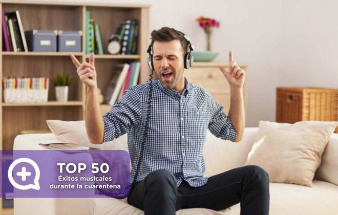 Spotify, éxitos músicales mediquo, confinamiento, endorfinas, cuarentena, covid19, coronavirus, pandemia, quedateencasa
