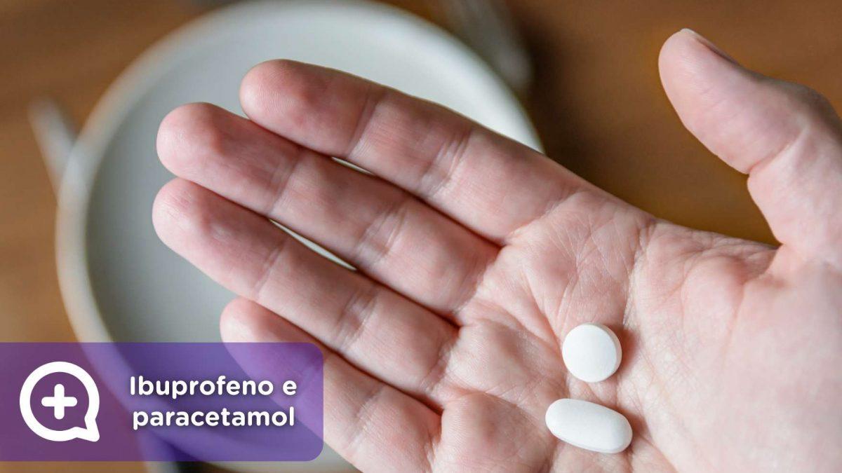 Ibuprofeno, paracetamol, analgésicos, anti-inflamatório, fiebre, dor. mediQuo, teu amigo médico, chat médico.