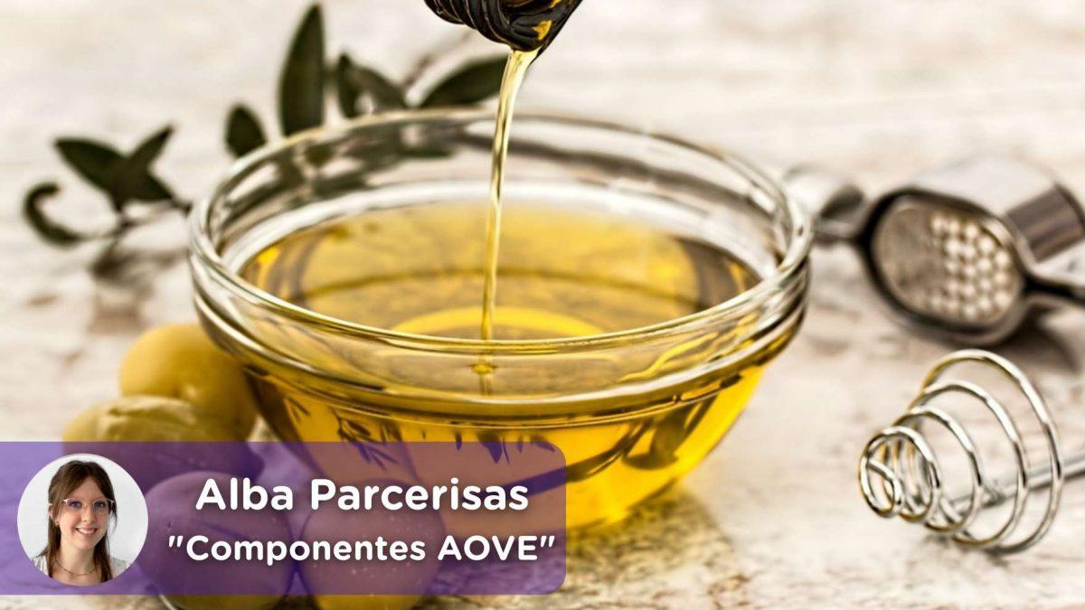 AOVE, aceite de Oliva virgen extra. Beneficios, componentes, diabetes, cancer de colon, antiinflamatorio, salud, mediquo