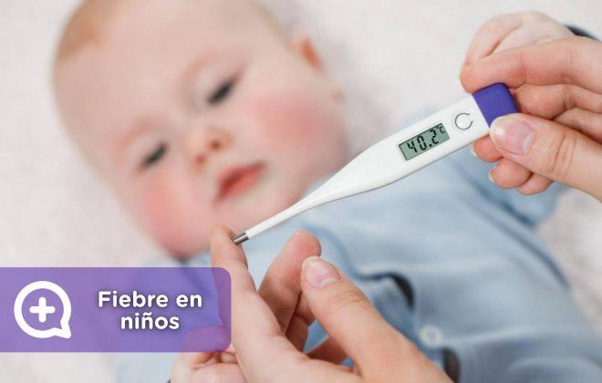 recomendaciones fiebre en niños, febrícula, temperatura, termómetro, mediquo, salud