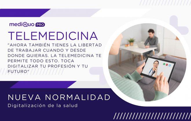 digitalización del sector salud, medicina, médicos online, chat, llamada, videollamada, telemedicina, app, telemedicine, telehealth, mediquo pro, consulta online, pacientes. salud.