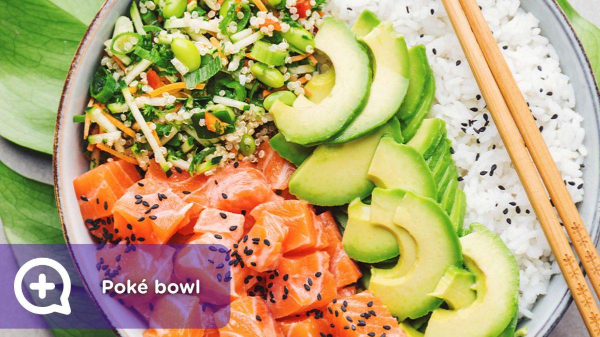 receta, recetas fáciles, poké bowl, salmón, atún, cocinar, nutrición, saludable, mediquo, salud.