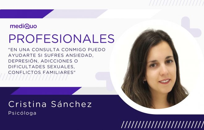 Cristina Sánchez psicóloga Profesionales blog mediQuo