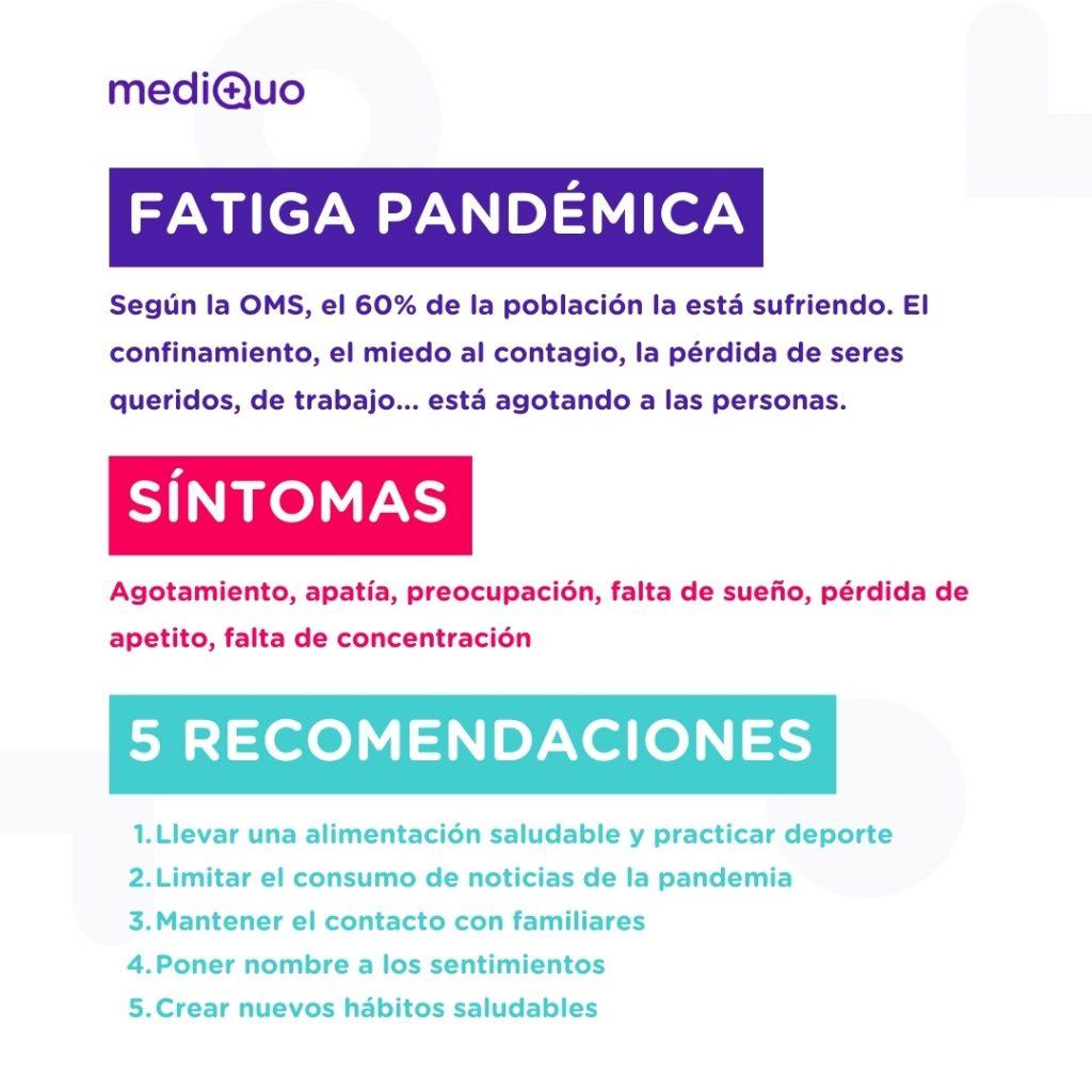 Fatiga pandémica mediQuo