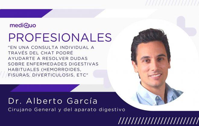 Cirujano General y del aparato digestivo. Dr. Alberto García García. Salud, MediQuo, Chat médico, Consulta online.