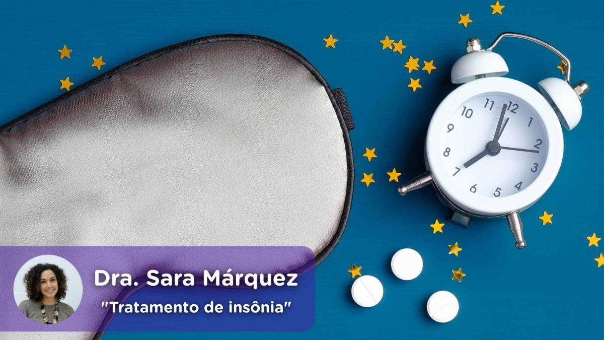 Tratamento de insônia, hipnóticos, sono restaurador, benzodiazepínicos, saúde, saúde mental, Sara Márquez, psiquiatra, mediQuo
