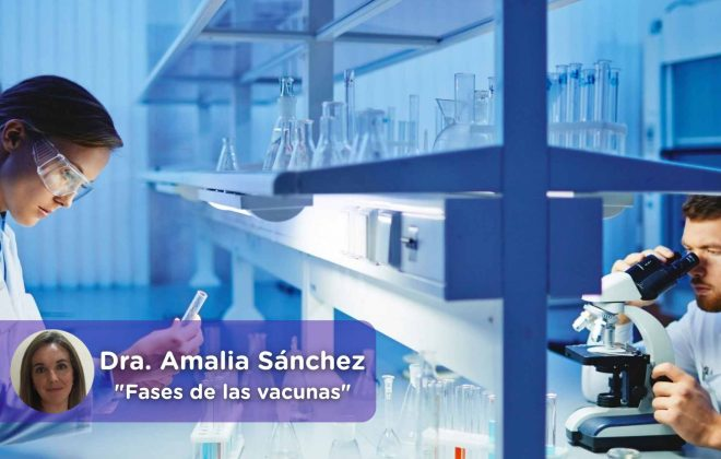 mediQuo, fases vacuna, covid, Dra. Amalia Sánchez, mediQuo, salud