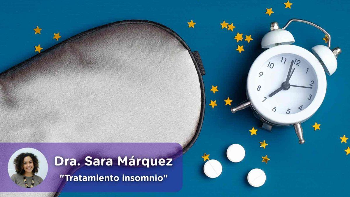 Tratamiento insomnio, hipnóticos, sueño reparador, benzodiacepinas, salud, salud mental, Sara Márquez, psiquiatra, mediQuo