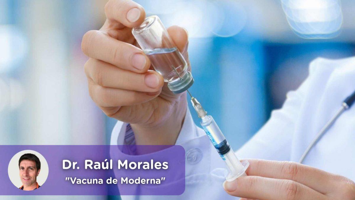 vacuna moderna, anti covid19, mediquo, salud, noticias, actualidad, europa, Dr. Raúl Morales, pediatría