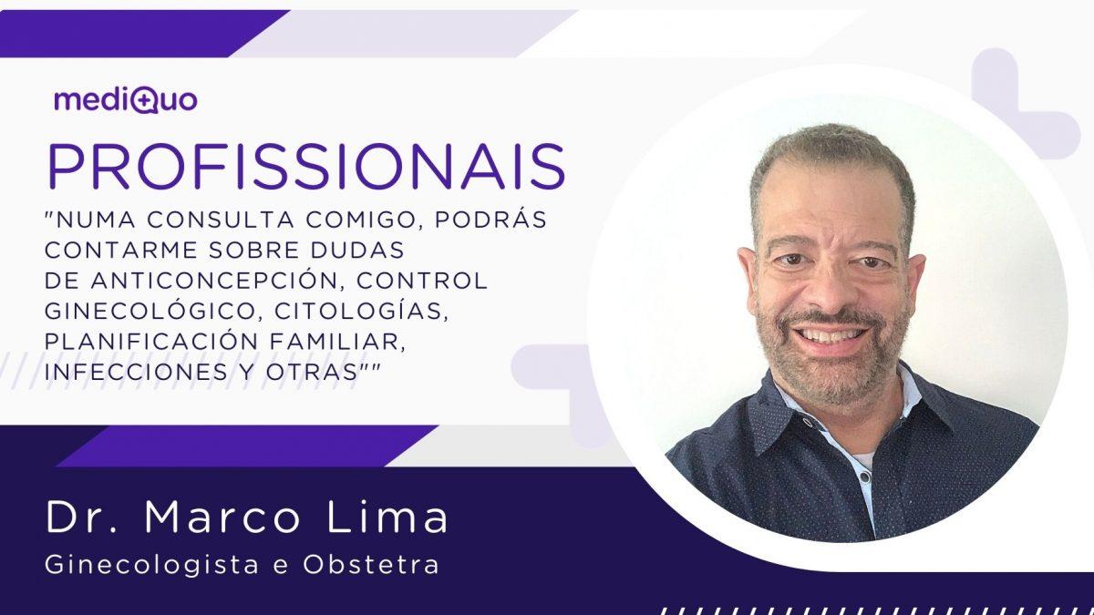 Marco Lima Ginecologista obstetra, mediQuo, Saúde mulher