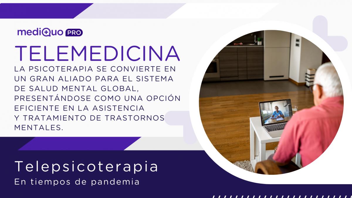 Telemedicina telepsicoterapia, atención médica online, chat médico, estudio pacientes, ansiedad, estrés, insomnio. mediquo pro