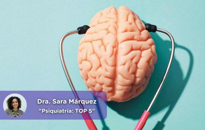 top 5 consultas más frecuentes en psiquiatría, insomnio, psicofármacos, problemas de pareja, salud mental, mediquo, telemedicina, Sara Márquez