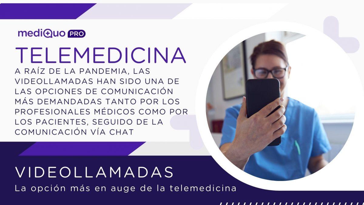 Videollamadas, videoconsultas, médico, paciente, mediquo, salud, SAAS