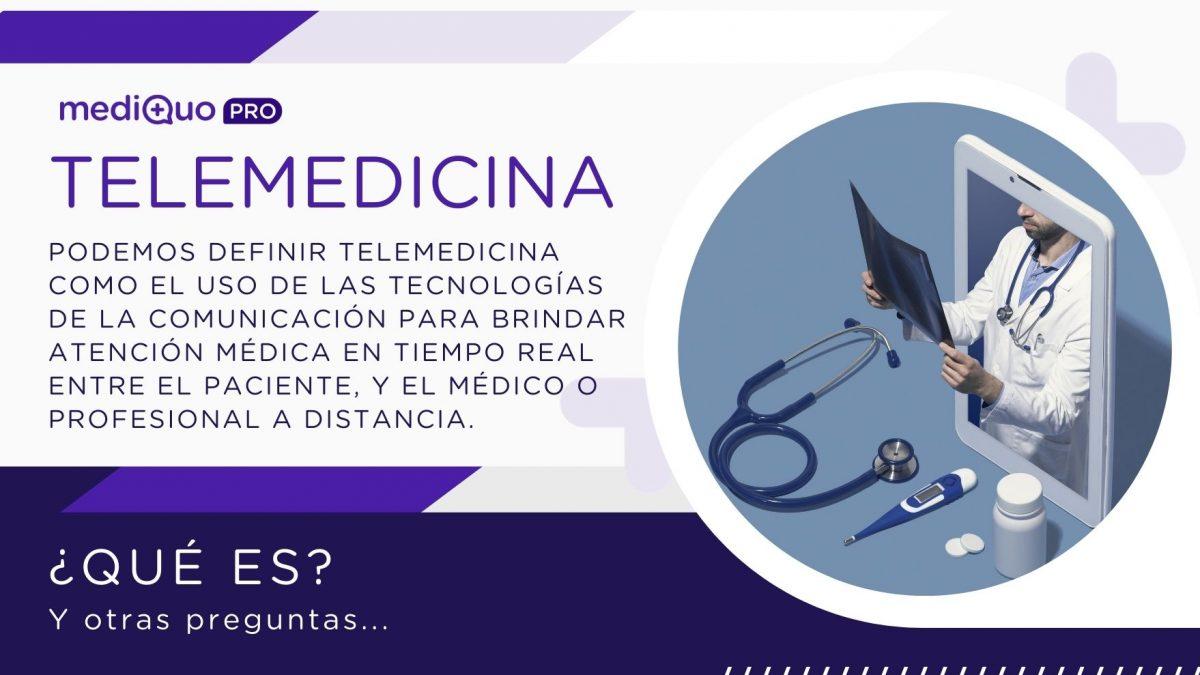 Qué es Telemedicina MediQuo PRO. SAAS. App, plataforma, web mediquo pro, médicos, pacientes, profesional de la salud