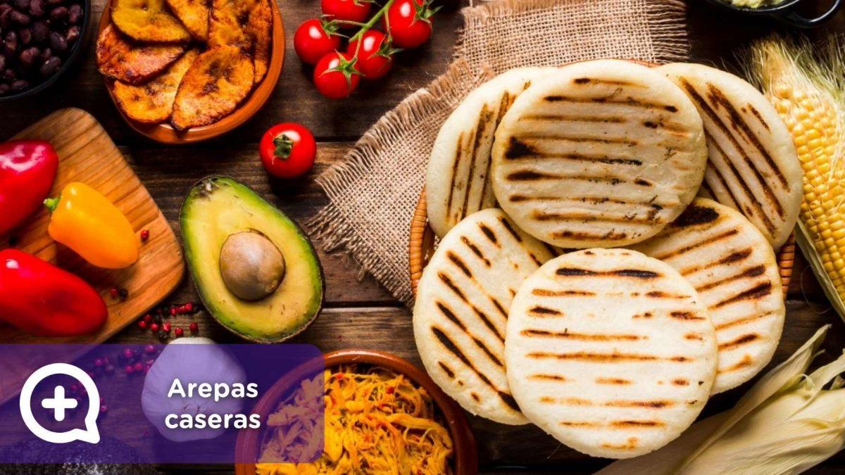 arepas caseras, colombianas, venezolanas, receta tradicional, recetas fáciles, mediquo, salud, nutrición