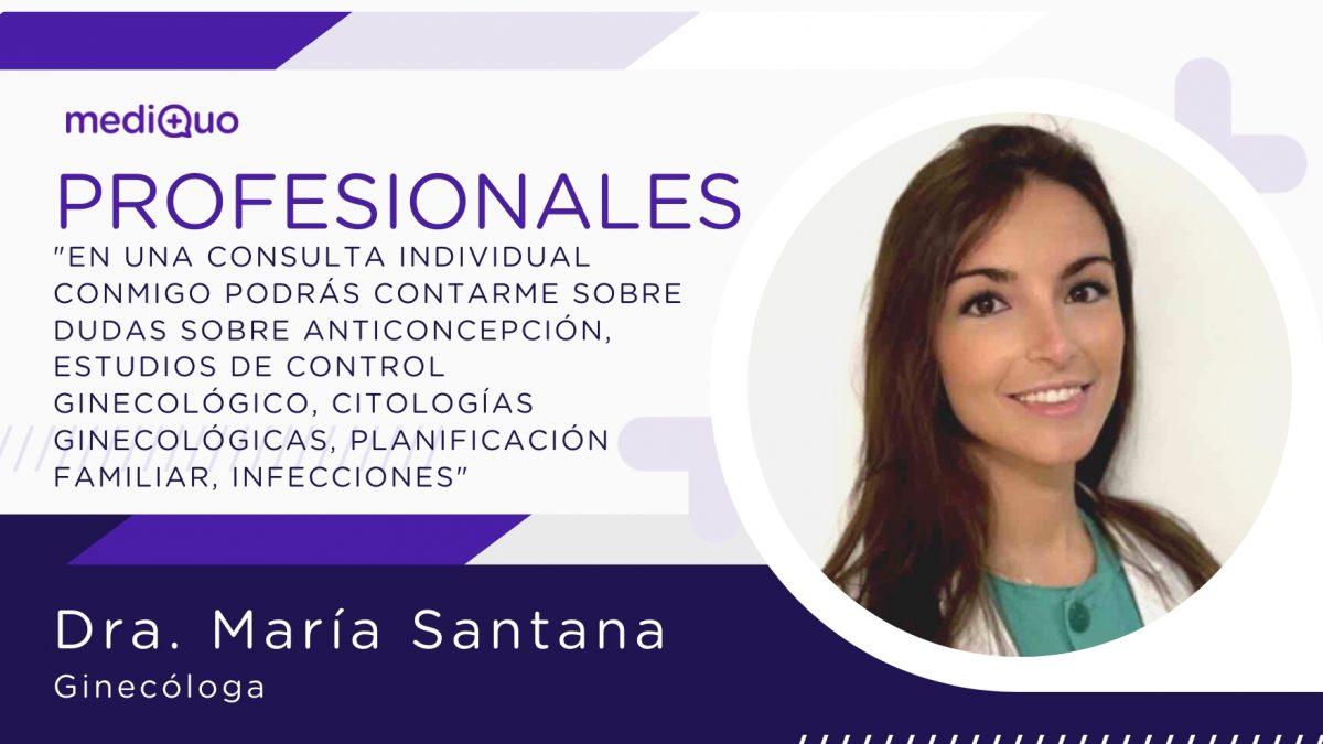 María Santana_profesional_mediQuo Ginecóloga