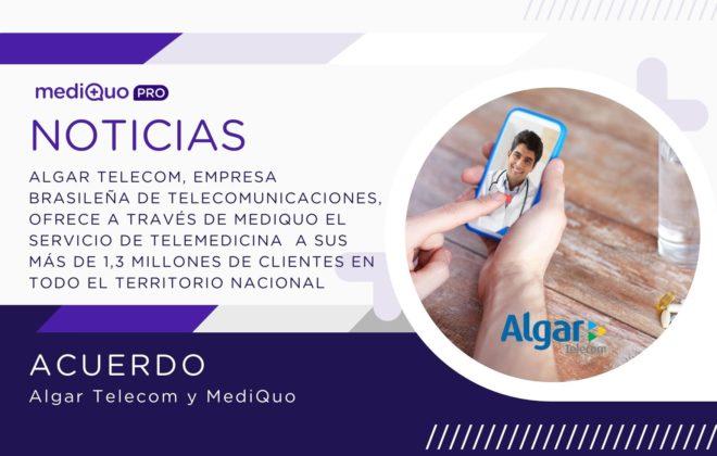 Acuerdo Algar Telecom y MediQuo. Brasil